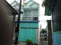 Nhà 1 tấm gần chợ hóc môn, dân cư đông đúc, khu nhà 49 căn