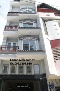 Nhà xây 5 tầng ngõ 12 phố Đào Tấn, Linh Lang giá 4,1tỷ