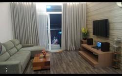 Giá 5tr/th, Q. Tân Phú   căn hộ chung cư 8X Đầm Sen, 1PN, không nội thất, Tel: Bích 0902.309.189