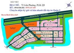 Chính chủ cần bán nhanh 2 lô nhà phố  KDC CBCNV ĐH-Bách Khoa, Phú Hữu. Q9