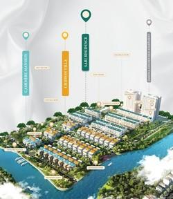 Nhà phố ven sông nghỉ dưỡng Quận 7 - Trúng MERCEDES - Giá từ 5,9 tỷ/căn