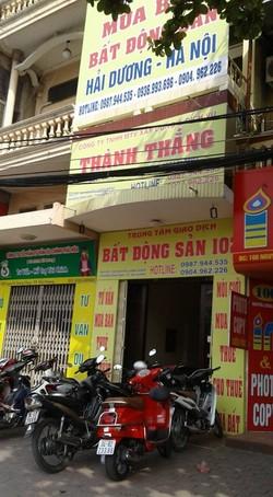 Trung tâm giao dịch bất động sản 102 - Công ty TNHH MTV XD và DV Thành Thắng