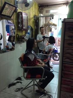 Sang lai salon tóc nữ