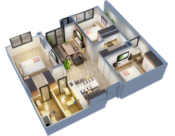 Chỉ từ 1 tỷ 9 bạn đã sở hữu ngay căn hộ bên hồ điều hòa 15ha của dự án chung cư cao cấp An Bình city