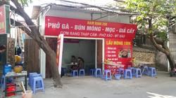 Chuyển nhượng quán bún phở 70m2 tại Định Công, giá thuê 3.5 triệu