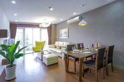 Cho thuê CĂN HỘ DỊCH VỤ MỚI   2PN, Balcony riêng-98m2-42triệu/tháng tại số 3 Võ Văn Tần, Q3, HCM