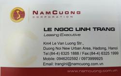 Cho thuê văn phòng tòa nhà Nam Cường Building