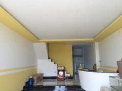 Cho thuê nhà mới xây 3 lầu KDC 586 có 9 máy lạnh tiện Ở Miễn Trung Gian