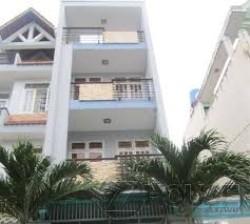 Bán nhà 1 trệt 3 lầu, 5 phòng ngủ 6 WC, sân thượng