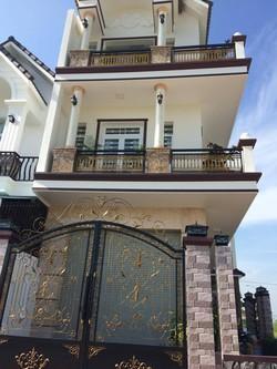 Cho thuê nhà 2 lầu KDC Hưng Phú 1 tiện làm văn phòng, Ở  miễn trung gian