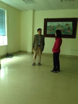 Cho thuê nhà 153m2 4 tầng mặt hồ Hoàng Cầu- đặng tiến đông