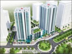Bán sàn trung tâm thương mại tòa B1B2-CT2 HUD Tây Nam Linh Đàm.