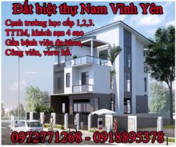 Bán đất đô thị mới Nam Vĩnh Yên giá rẻ