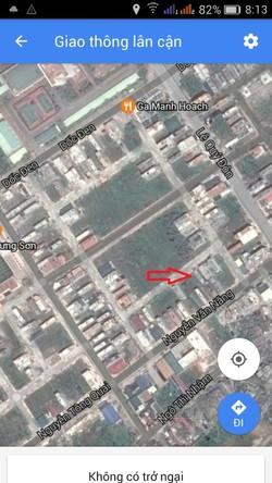 Bán rẻ lô đất tái định cư Trần Lãm, sau đường Nguyễn văn Năng giá 16tr x 76m2