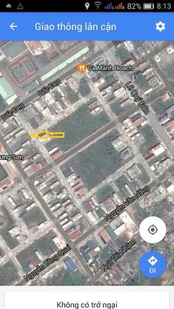 Bán lô đất khu tái định cư Trần lãm cạnh C.A 9 tầng MT4,2m x 18m giá 16tr