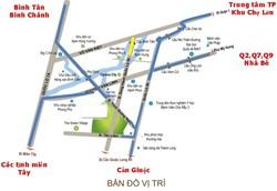 Mở bán 160 căn đầu tiên dự án KDC Trịnh Quang Nghị, Bình Chánh