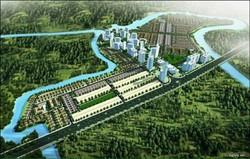 Đất nền đầu tư ven sông, Khu đô thị bán đảo Cường Hưng