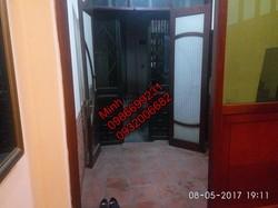 Cho thuê nhà riêng ở ngõ phố Lương Khánh Thiện, 30m2x5t, 6tr/th