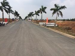 Đất nền liền kề khu công nghiệp, mặt tiền đường kết nối sân bay Long Thành