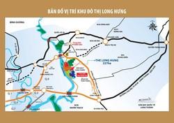 Đất nền dự án khu đô thị Long Hưng- Đồng Nai. Giá từ 830 triệu/ nền
