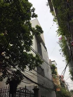 60m, 5 tầng, giá 8.6 tỷ mặt ngõ Thái Thịnh, kinh doanh
