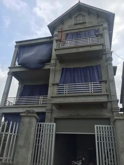 Nhà đất Sóc Sơn gần Nội Bài  218m2, Tây Nam