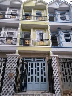 Nhà mới trệt 2 lầu huỳnh tấn phát phú xuân nhà bè