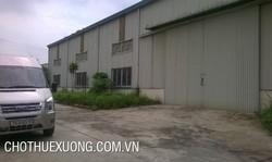 Cho thuê xưởng 6100m2 tại Hoằng Hóa, Thanh Hóa với giá cực rẻ