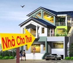 Cho thuê nhà 4 tầng, mặt tiền 8m, mặt đường Trần Nguyên Hãn, Lê Chân, Hải Phòng