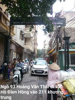 Mình chủ rao bán nhà riêng Trương Định giá 2,45 tỷ, sổ đỏ 41m, 5t, 3p, 3wc, 1 khách, 1 phòng thờ