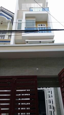 Bán nhà hẻm 10m đường số 3  Phạm Văn Chiêu  p9 Gò Vấp 4.2 x 26 m, lửng 2 lầu