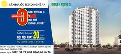 Cao ốc  Tầm Nhìn Xanh-Green View3  Đẹp nhất Tp Vinh, Nghệ An