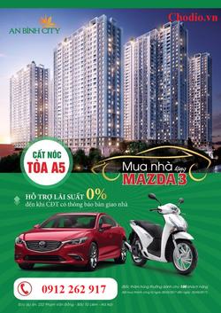 Mua Chung cư An Bình City trung xe Mazda3
