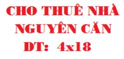 Nhà Nguyên căn  4x18  Ngay bến xe Quận 8 Mặt tiền buôn bán được