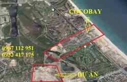 Phố thương mại ven biển, view Cocobay, giá chỉ 357 triệu/nền