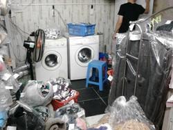 Cửa hàng đông khách đường Hoàng Mai