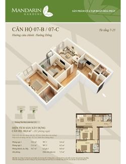 Vỡ nợ bán gấp căn hộ Chung cư Mandarin Garden 2 Hòa Phát Tân Mai 88m 2.28 tỷ