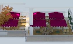 Mặt bằng  nhà hàng buffet, cafe, bể bơi, phòng tập gym tại VP2- VP4 Linh đàm