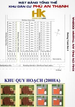 Đất nền dự án khu dân cư Phú An Thạnh 4tr7/m2