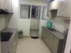 Cho thuê CHCC Ngọc Phương Nam, Quận 8, DT: 116 m2, 3 PN, Lầu cao, nhà thoáng, sạch sẽ, có nội thất
