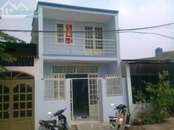 Cần bán nhà 1 trệt ,1 lầu,diện tích 60m2 nhà gần khu dân cư trường học .giá 750tr