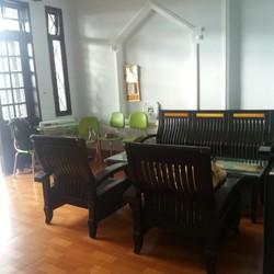 Cho thuê nhà nguyên căn 2 phòng ngủ đường Mỹ An 11, gần cầu Trần Thị Lý, giá 11tr/ tháng.