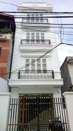 Bán nhà ngõ 2/41/282 Đà Nẵng, DT:68m2, 4 tầng, ngõ 7m mét - ô tô đỗ cửa.