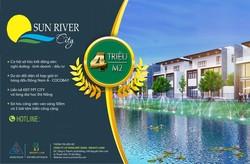 Những giá trị để nhà đầu tư an tâm lựa chọn Sun river City   giá 3,9trieu/m2