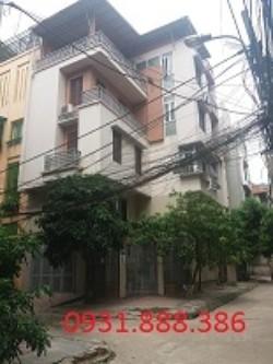 Nhà phân lô ngõ 112  Hoàng Quốc Việt   110m2   xây 90m2 x 4,5T   Giá 30tr