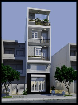 Cho thuê nhà nguyên căn 3 lầu q11