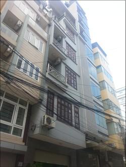Nhà ngõ 57 Trần Đăng Ninh, Dt 65m2 x 5,5 tầng, 2 mặt tiền trước và sau, đường 10m, giá 35 triệu
