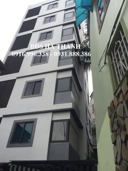 Nhà phân lô đường Trần Vỹ. Diện tích 92m2 xây 6.5Tầng, Mặt tiền 5.2m, Thang Máy
