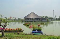 Làng Sen Việt Nam-LCHP, MT Hùng Vương 60m, giá chủ đầu tư thanh toán 36 tháng