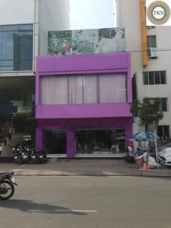 Cần cho thuê nhà mặt tiền đường Kỳ Đồng, Quận 3  DT 10x6m, trệt, lửng. Giá 50 Triệu/Tháng